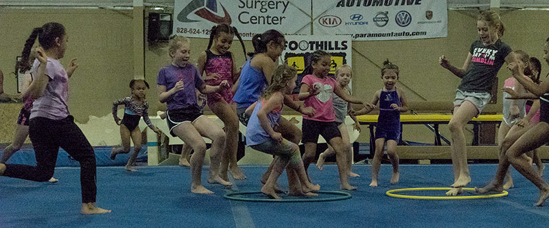 Foothills Gymnastics Special Events